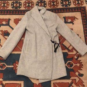 Zara heather grey jacket